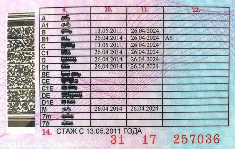 Удостоверение тракториста машиниста. Новые категории с 13 ноября 2011 года.